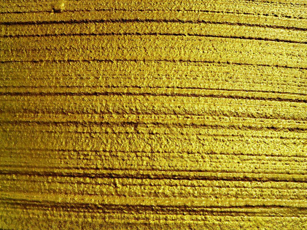 Sarna-Granol Armiermörtel neu, als Besenstrich mit Keim Granital Gold verdünnt
