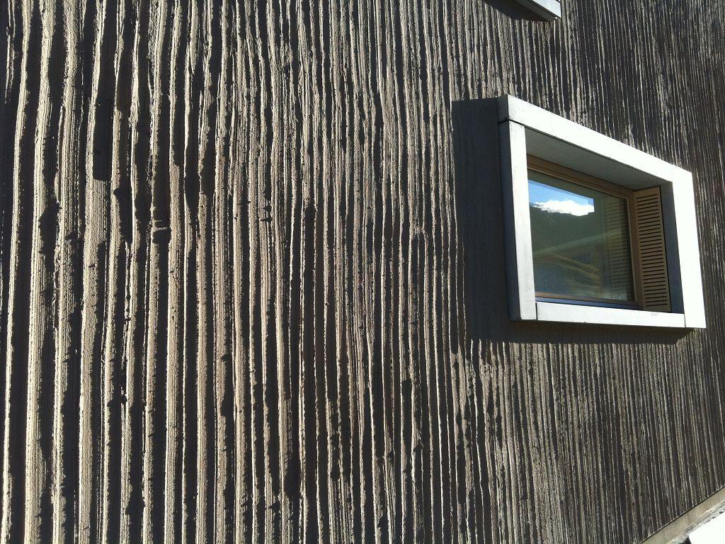 Detail Haus am Rhein, Vals